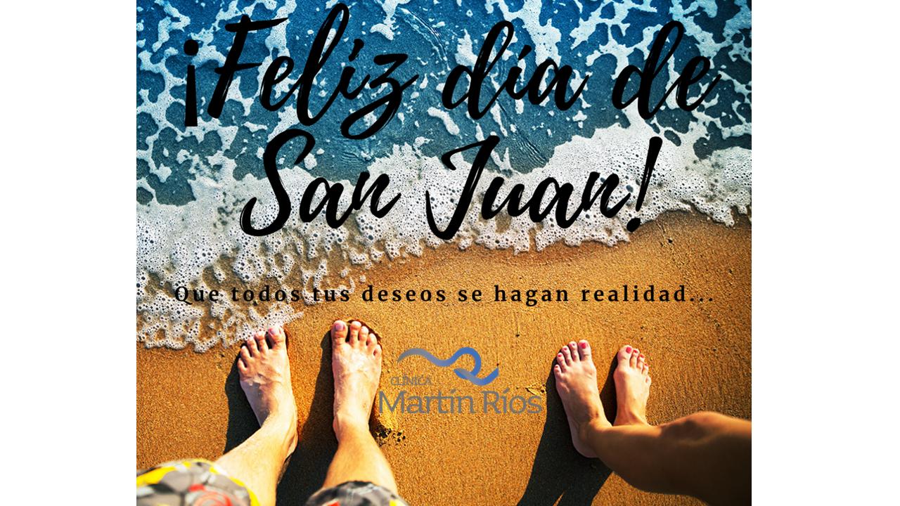 ¡Feliz día de San Juan!
